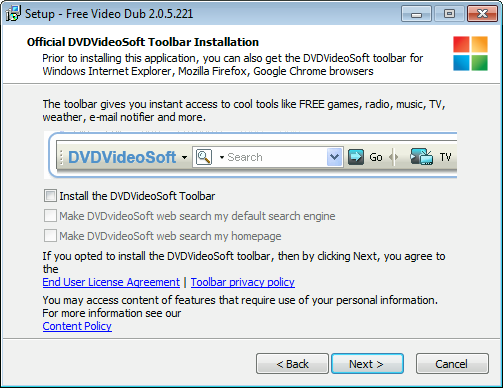 Remove dvdvideosoft toolbar (removal guide).